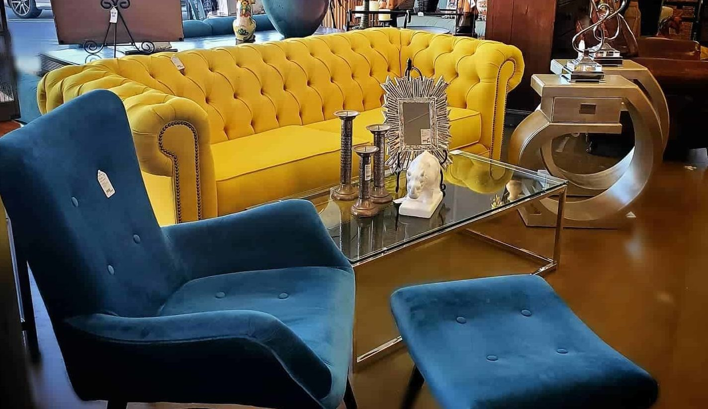 the hunt consignment store colorful pieces